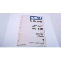 LIT-18616-01-19 Yamaha Service Manual 40T/50T/40V/50H