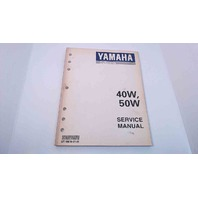 LIT-18616-01-81 Yamaha Service Manual 40W/50W