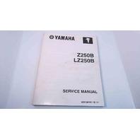 LIT-18616-02-43 60V-28197-1E-11 Yamaha Service Manual Z250B/LZ250B