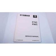 LIT-18616-02-70 61P-28197-1F-11 Yamaha Service Manual F75C/F90C