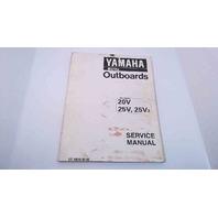 LIT-18616-01-66 Yamaha Service Manual USA, Canada: 20V/25V/25V2