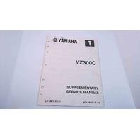 LIT-18616-02-81 6C9-28197-1F-1X Yamaha Supplementary Service Manual VZ300C