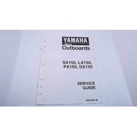 90894-62941-06 Yamaha Service Guide SX150/LX150/PX150/DX150