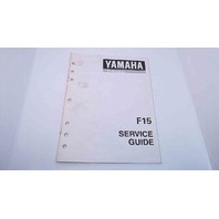 90894-62940-92 Yamaha Service Guide F15