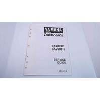 90894-62941-05 Yamaha Service Guide SX200TR/LX200TR