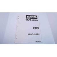 90894-62970-54 Yamaha Model Guide 2000