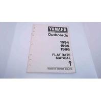 Yamaha Flat Rate Manual 1994/1995/1996