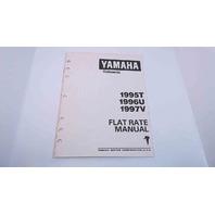 LIT-18750-00-97 Yamaha Flat Rate Manual 1995T/1996U/1997V