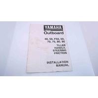 63B-2819K-14 Yamaha Installation Manual 40/50/F50/60/70/75/80/90