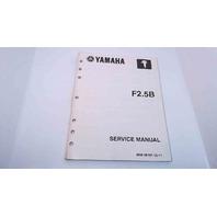 LIT-18616-02-40 69M-28197-1E-11 Yamaha Service Manual F2.5B