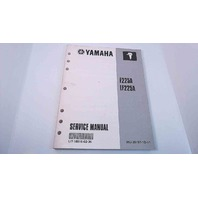 LIT-18616-02-36 69J-28197-1D-11 Yamaha Service Manual F225A/LF225A