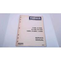 LIT-18616-01-92 Yamaha Service Manual 115W/C115W/S115W/B115W/130W/S130W/L130W