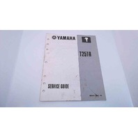 90894-62941-18 Yamaha Service Guide T25TR