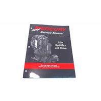 90-888438 Mercury Service Manual 250HP OptiMax Jet Drive Model Year 02