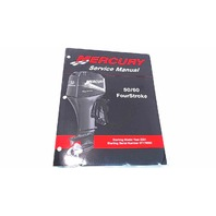 90-858896 Mercury Service Manual 50/60 HP FourStroke Model Year 2001