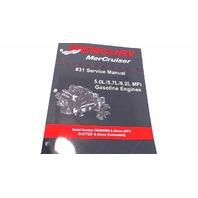 90-864260001 Mercury MerCruiser #31 Service Manual 5.0L/5.7L/6.2L MPI