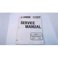 90-827242 Mercury Mariner Service Manual 6/8/9.9/10/15HP Serial# 0D281000 & Up
