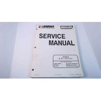90-814676R1 Mercury Mariner Service Manual 30JET/40HP 4 Cylinder