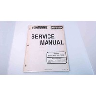 90-17308-1 Mercury Mariner Service Manual 4/5HP 102CC SailPower