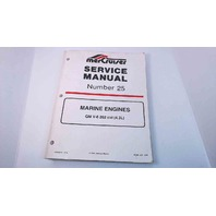90-861328-1 MerCruiser Service Manual #25 Marine Engines GM V6 262 CID (4.3L)