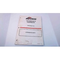 90-806534970 MerCruiser Technician's Handbook Model Year 1997 Stern Drive Units