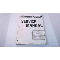 90-86135-5 Mercury Marine Service Manual 45/50 (4 Cyl.) 60/70 (3 Cyl.)