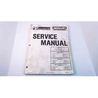 90-86134-4 Mercury Mariner Service Manual 75/80/85/90/115/140 HP 150 (In-Line)