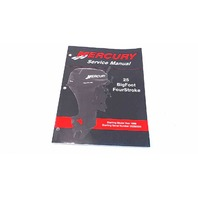 90-854785R2 Mercury Service Manual 25 BigFoot FourStroke Model Year 1998