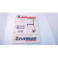 507944 Johnson Evinrude Service Manual Electric Trollers