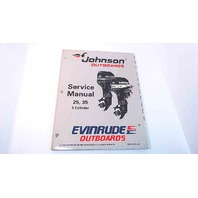 507264 Johnson Evinrude Service Manual 25/35 HP 3 Cylinder