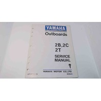 LIT-18616-01-16 Yamaha Marine Outboards Service Manual 2B/2C/2T