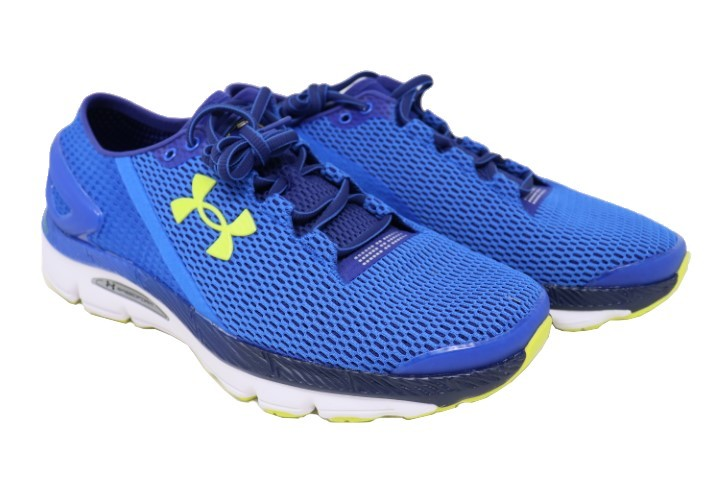 buy online 7b0bf b5198 UA SPEEDFORM GEMINI 2.1 1288353-907 MENS ULTRA BLUE/WHITE RUNNING SHOES SZ  10.5