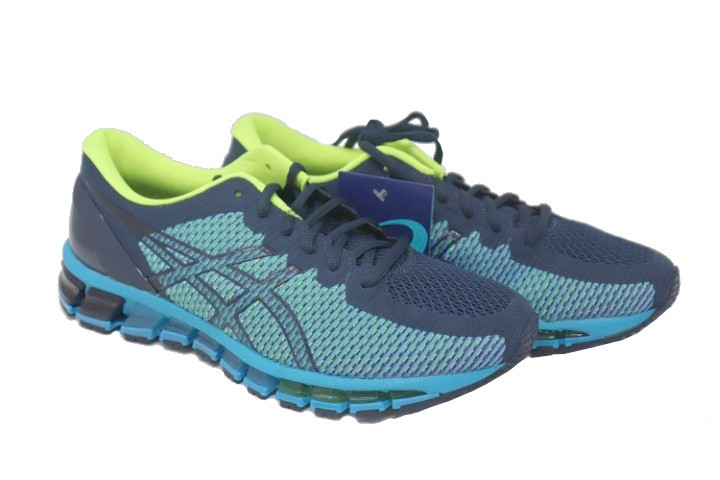 grand choix de 9c9d9 cc321 ASICS GEL-QUANTUM 360 CM 1021A134-402 MENS PEACOAT/SAFETY YELLOW RUNNING  SHOES SIZE 8.5