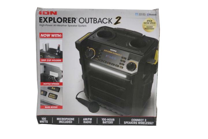 Ion Explorer Outback 2 Bluetooth Water Resistant Speaker System Mdg S Llc