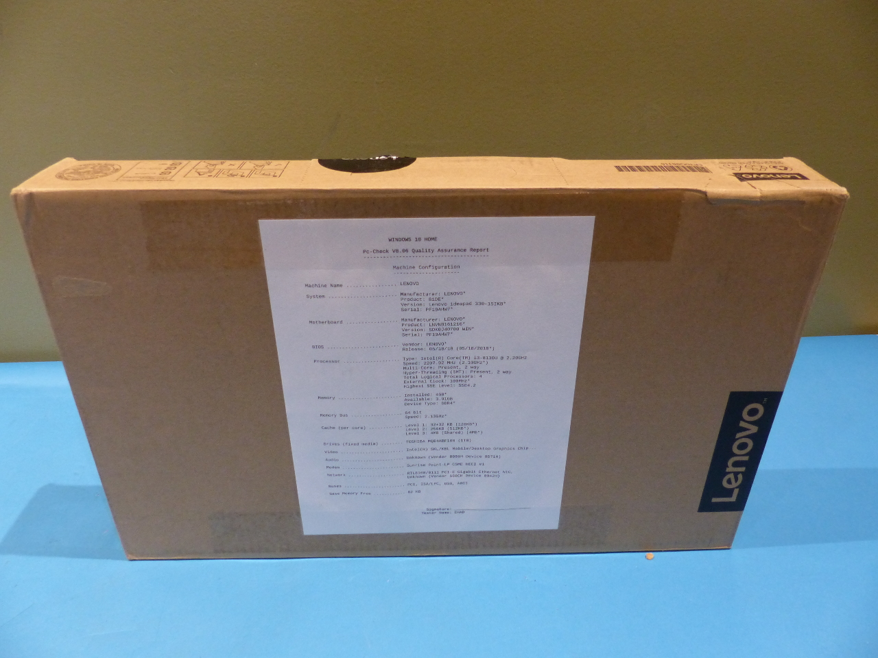 Details about LENOVO IDEAPAD 81DE00T1US 2 2GHZ 4GB 1TB UHD 620 WIN 10 HOME  LAPTOP PURPLE