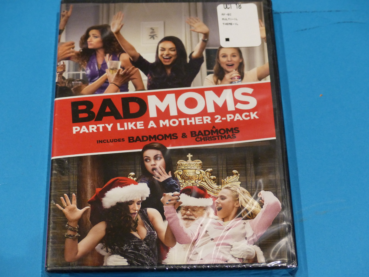Bad Moms Christmas Dvd Release Date.Bad Moms Party Like A Mother 2 Pack Badmoms A Badmoms Christmas Dvd New
