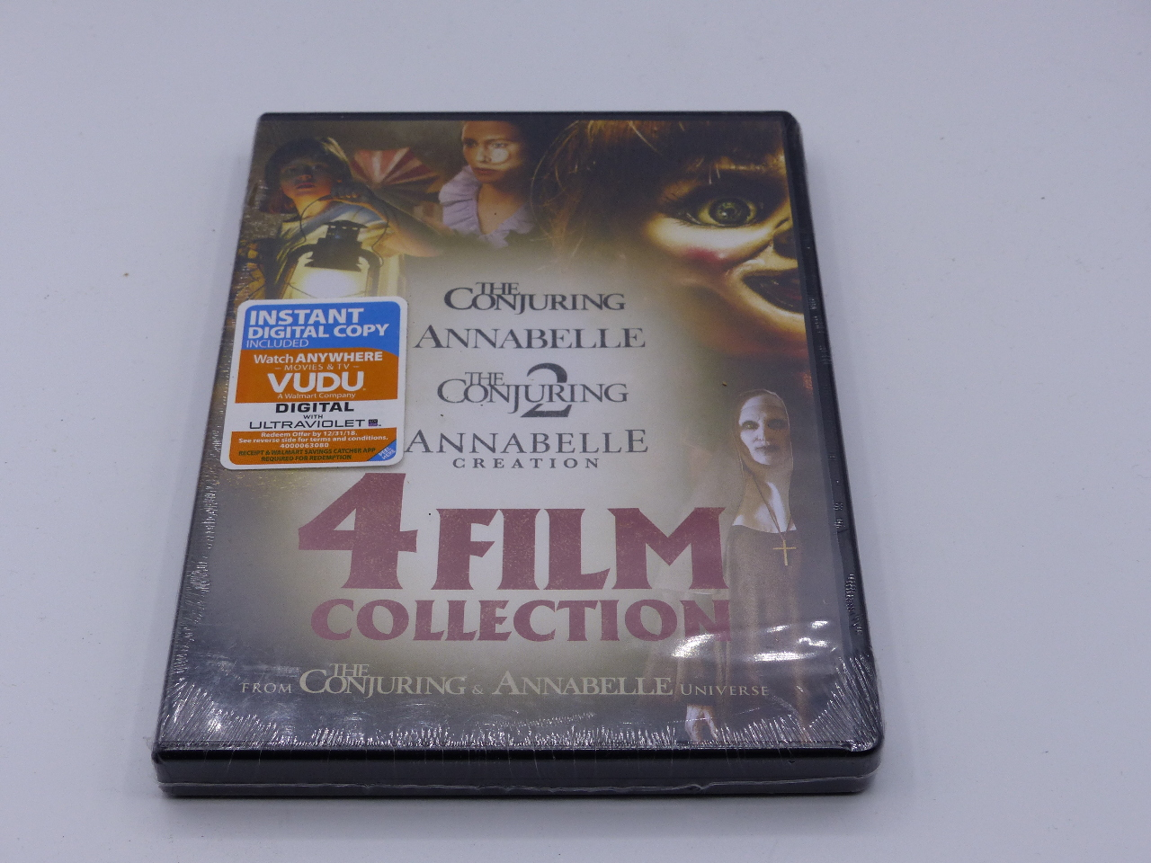 4 FILM COLLECTION FROM THE CONJURING AND ANNABELLE UNIVERSE DVD NEW