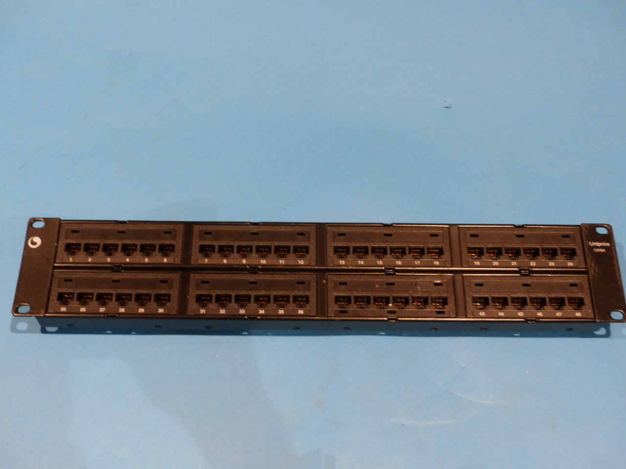patch panel systimax cat 6a