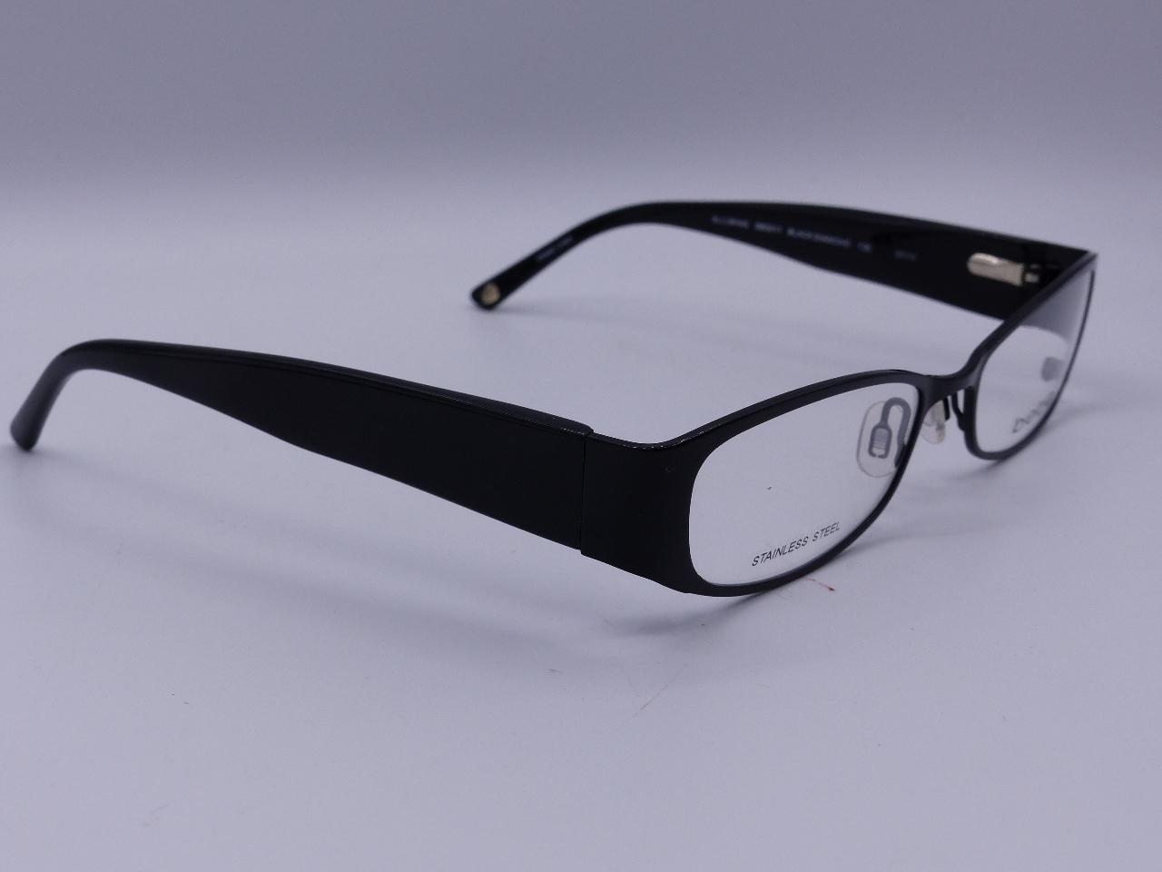 b354dc9e6c7 Bebe Bb5011 Black Eyegles Frames Stainless Steel 001 53 18 135