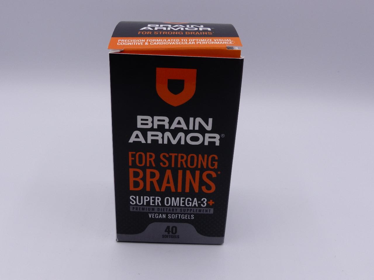 Best Brain Supplements 2020 BRAIN ARMOR FOR STRONG BRAINS 40 SOFTGELS BEST 03/2020 | MDG Sales