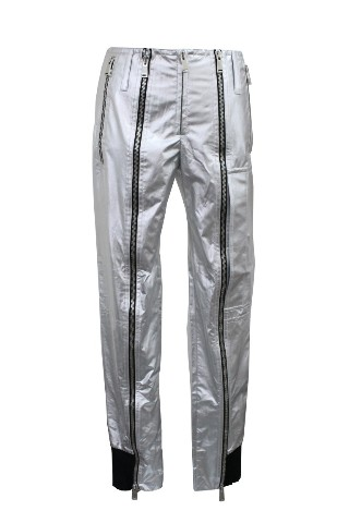 PACO RABANNE 14ECPA006P0003001124 SILVER CASUAL PANTS S 38