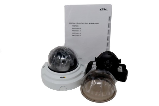 AXIS P3384-V 0511-001 NETWORK DOME CAMERA