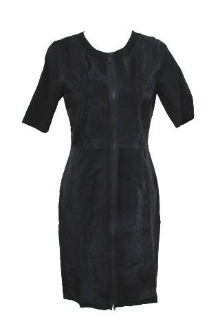 ELIE TAHARI E831R604 CORALIE DRESS BLACK S 10