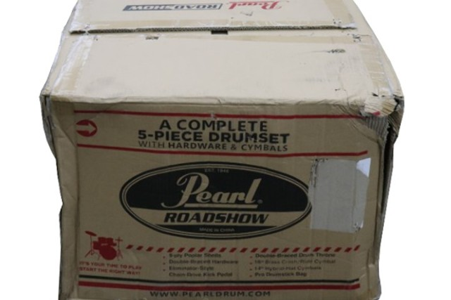 PEARL ROADSHOW RS525SC/C 5 PIECE DRUM SET WITH HARDWARE & CYMBALS