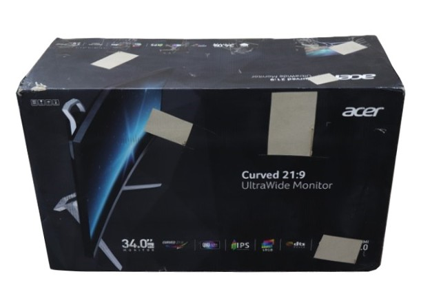 ACER UM.CX1AA.001 34 IN. CURVED 21:9 ULTRAWIDE IPS LED MONITOR