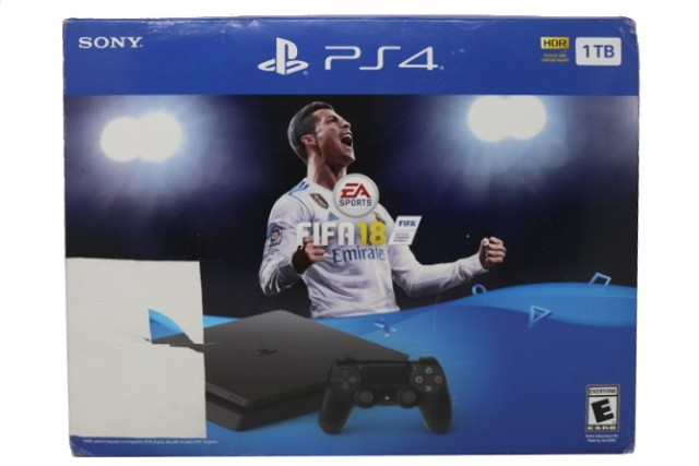 SONY PS4 SLIM 007117951324 1TB FIFA 18 BUNDLE