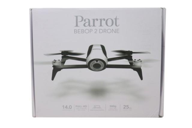 PARROT BEBOP 2 1615477 WHITE QUADCOPTER DRONE