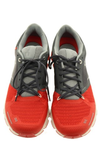 ON CLOUD FLYER STABILITY RUNNING SHOE MENS SIZE 10 RED WHITE ... 77fe681a34c9