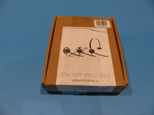 PLANTRONICS ENCOREPRO HW540 (88828-01) ON-EAR CONVERTIBLE WIRED HEADSETS