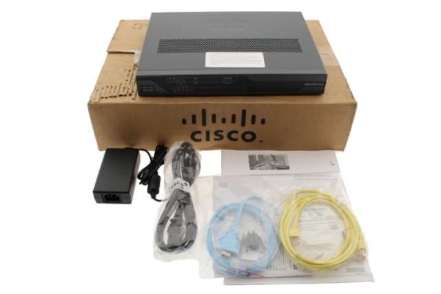 CISCO 881 C881W-A-K9 4 PORT ADVANCED IP SEC ROUTER